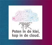 Poten in de klei, kop in de cloud